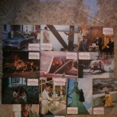 Cine: SET COMPLETO 12 FOTOCROMOS. LA RULETA RUSA. GEORGE SEGAL, CRISTINA RAINES, BO BRUNDIN.. Lote 39929913