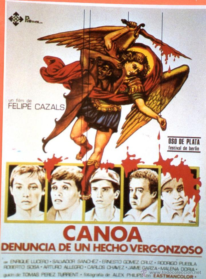 Foto Programa De Cine Plastificada Canoa Denunc Comprar Fotos