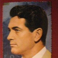 Cine: POSTAL ROCK HUDSON - 1963 - SIN CIRCULAR -. Lote 40335463