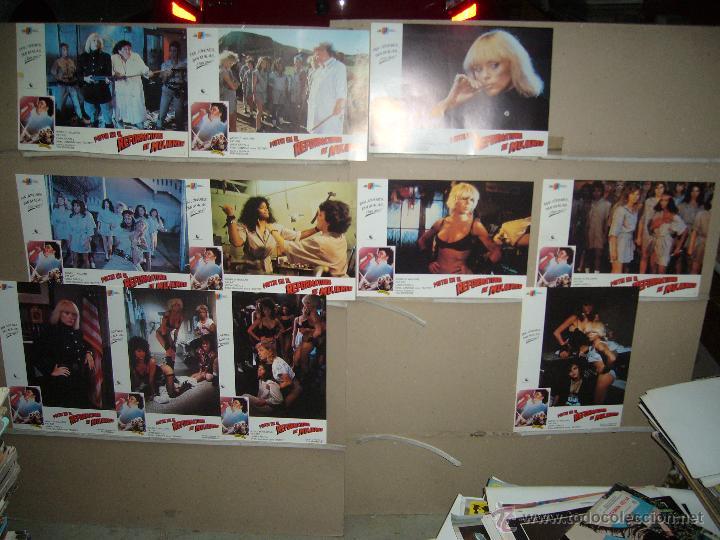 MOTIN EN EL REFORMATORIO DE MUJERES SYBIL DANNING JUEGO COMPLETO B(274) (Cine - Fotos, Fotocromos y Postales de Películas)