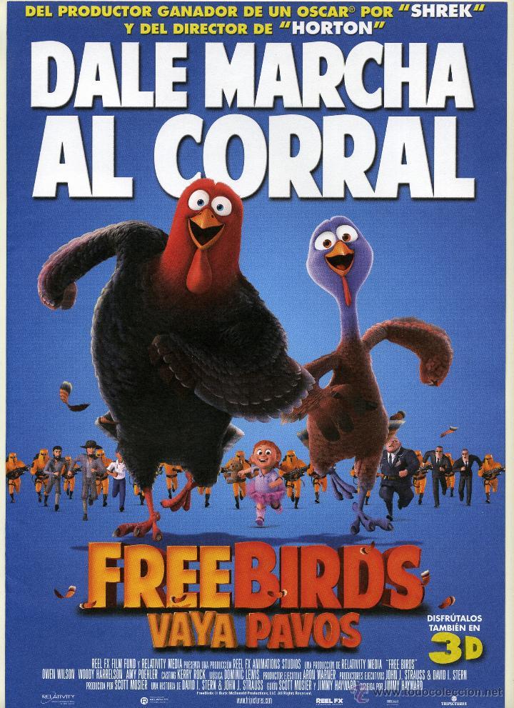 Free Birds Vaya Pavos Dibujos Animados Kaufen Fotos Und