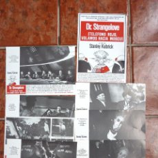 Cine: DR. STRANGELOVE TELEFONO ROJO VOLAMOS HACIA MOSCÚ PETER SELLERS STANLEY KUBRICKS 8 FOTOCROMOS. Lote 40959887