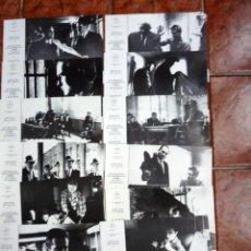Cine: A SANGRE FRIA 12 FOTOCROMOS ORIGINAL ROBERT BLAKE RICHARD BROOKS TRUMAN CAPOTE CINE. Lote 40960269