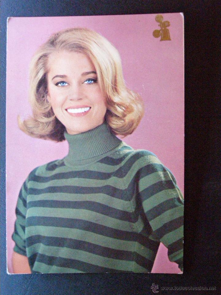 ANTIGUA POSTAL - JANE FONDA - NUEVA - SIN ESCRIBIR NI CIRCULAR - 1964 - (Cine - Fotos y Postales de Actores y Actrices)