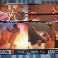 Cine: KICKBOXER 2 (JUEGO COMPLETO DE 12 FOTOCROMOS) LEER DESCRIPCION. Lote 41268838