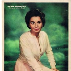 Cine: JEAN SIMMONS POSTER - FOTOCROMO - 27 X 21. Lote 41900838