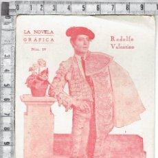 Cine: RODOLFO VALENTINO FOTO CROMO Nº39-LA NOVELA GRAFICA.. Lote 42031461