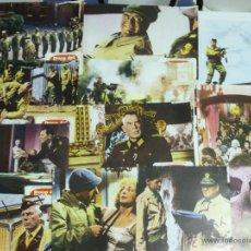 Cine: JUEGO DE 12 FOTO-CROMOS DE DOCE DEL PATÍBULO , LEE MARVIN, ERNEST BORGNINE, CHARLES BRONSON,.... . Lote 42113601