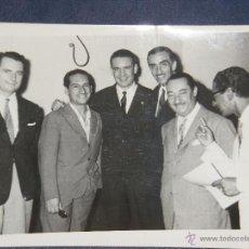 Cine: FOTO DEL GUITARRISTA OSCAR ALEMAN (JUNTO A R. CÓSPITO Y OTROS) - UNICA - DÉCADA DE 1950. Lote 42185846