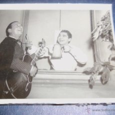 Cine: FOTO DE NICOLA PAONE Y FIDEL PINTOS - ARGENTINA - DÉCADA DE 1960 - UNICA!. Lote 42189429