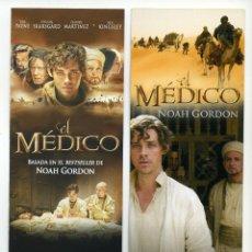 Cinema: EL MÉDICO, CON BEN KINGSLEY. MARCAPAGINAS.. Lote 43477627