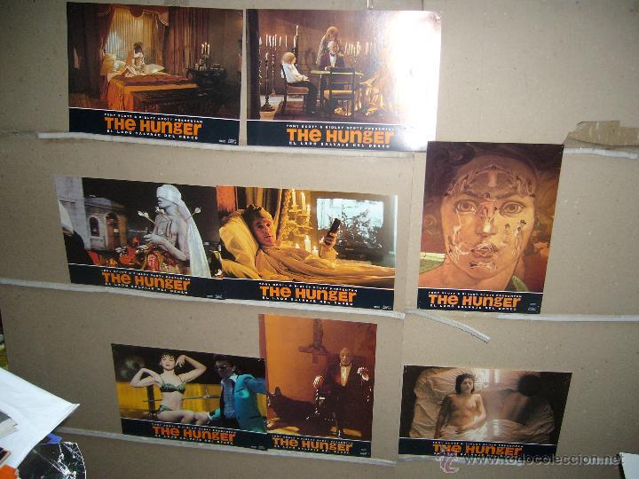 THE HUNGER EL LADO SALVAJE DEL DESEO TONY SCOTT JUEGO COMPLETO B2(479) (Cine - Fotos, Fotocromos y Postales de Películas)