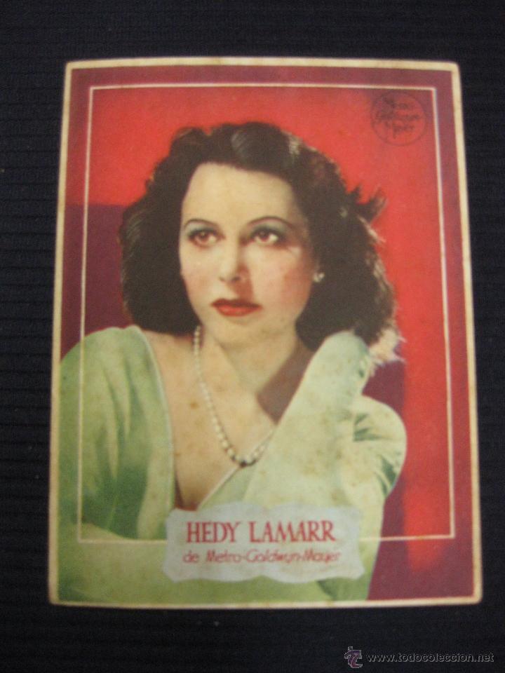 HEDY LAMARR DE METRO GOLDWIN MAYER. (Cine - Fotos y Postales de Actores y Actrices)