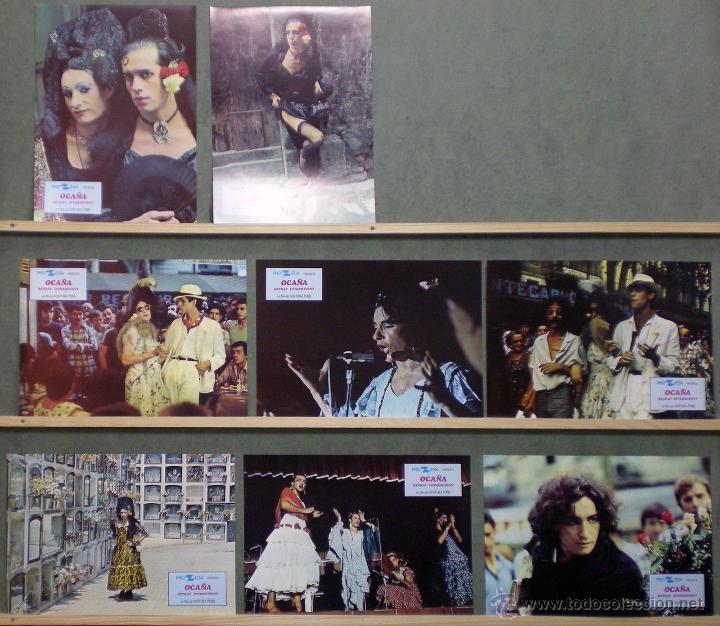 UL64 OCAÑA RETRAT INTERMITENT VENTURA PONS SET COMPLETO 8 FOTOCROMOS ORIGINAL ESTRENO (Cine - Fotos, Fotocromos y Postales de Películas)