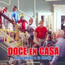 Cine: DOCE EN CASA. JUEGO DE FOTOCROMOS COMPLETO. NUEVO.. Lote 42469158
