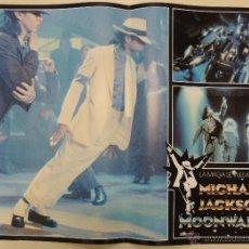 Cine: MOONWALKER - COLECCION 6 FOTOCROMOS ORIGINALES GRAN FORMATO 43.5 X 63 MICHAEL JACKSON JULIAN LENNON. Lote 194870721
