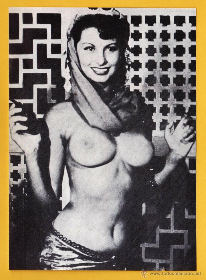 Fotografia Sophia Loren Semi Desnuda Fotografia Revista Las Estrellas Edurbion Año 1980 Rd22