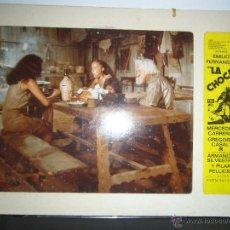 Cine: LA CHOCA MERCEDES CARREÑO GREGORIO CASAL FOTOCROMO ORIGINAL DEL ESTRENO ENCARTONADO. Lote 42734471