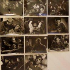 Cine: 11 FOTOGRAFIAS ORIGINALES DE EL FRENTE INFINITO, DE PEDRO LAZAGA, CON ADOLFO MARSILLACH. SIN MARCO. Lote 42954031