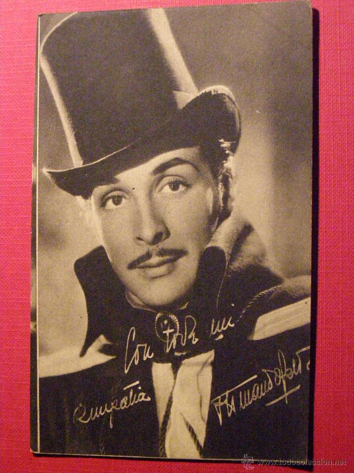MUY ANTIGUA FOTOGRAFÍA ORIGINAL DEL ACTOR ARMANDO CALVO EN LA PELÍCULA: EL ESCÁNDALO - 1943 - (Cine - Fotos y Postales de Actores y Actrices)