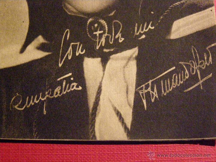 Cine: Muy antigua fotografía Original del Actor Armando Calvo en la película: El Escándalo - 1943 - - Foto 3 - 43131170