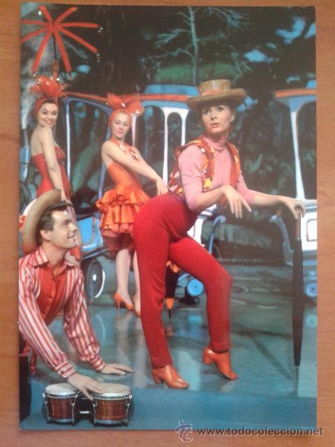POSTAL DE DEBBIE REYNOLDS Y ROBERT WAGNER (Cine - Fotos y Postales de Actores y Actrices)