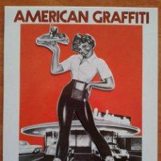 Cine: TARJETA DE CINE . AMERICAN GRAFFITI. Lote 43267438