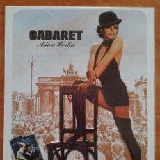 Cinéma: TARJETA DE CABARET. Lote 43267624