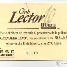 Cine: EL GRAN MARCIANO.. Lote 143004520