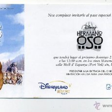 Cine: HERMANO OSO.. Lote 218343000