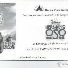 Cine: HERMANO OSO.. Lote 218343061