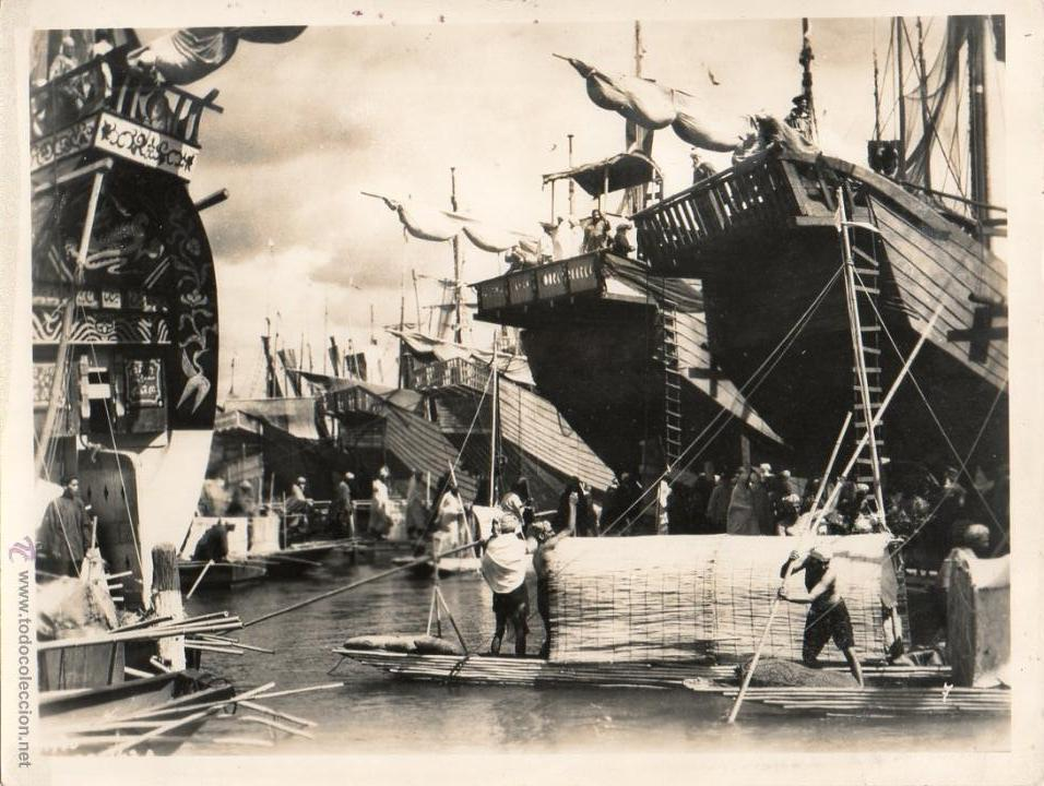 FOTOGRAFÍA SINBAD MARINO SINBAD 1947 THE SAILOR DOUGLAS FAIRBANKS RICHARD WALLACE (Cine - Fotos y Postales de Actores y Actrices)