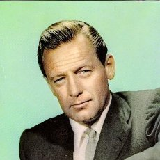 Cine: WILLIAM HOLDEN POSTAL ORIGINAL COLOR AÑOS 60 ROTALCOLOR Nº 6. Lote 113105756