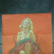 Cine: POSTER PIN UP . VIRGINIA MAYO . ESQUIRE'S LADY FAIR 1955 . MIKE LUDLOW 47 / 32 CM . LAMINA EPOCA. Lote 44078312