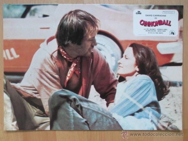 CANNONBALL, CANNON BALL, BILL MCKINNEY, VERONICA HAMEL, 1979, 8 FOTOCROMOS, F134 (Cine - Fotos, Fotocromos y Postales de Películas)