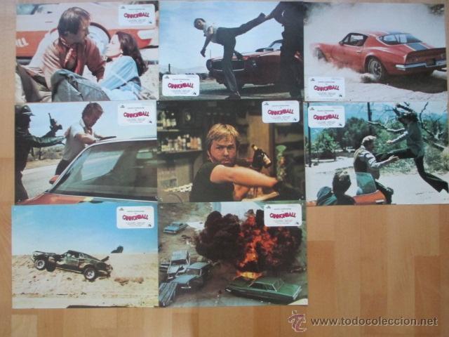 Cine: CANNONBALL, CANNON BALL, BILL MCKINNEY, VERONICA HAMEL, 1979, 8 FOTOCROMOS, F134 - Foto 2 - 44177928