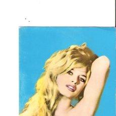 Cine: BRIGITTE BARDOT POSTAL ORIGINAL A COLOR 1964. Lote 48956539