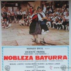 Cine: NOBLEZA BATURRA, MIGUEL LIGERO, ALFREDO LANDA, 18 FOTOCROMOS, F164. Lote 44222384