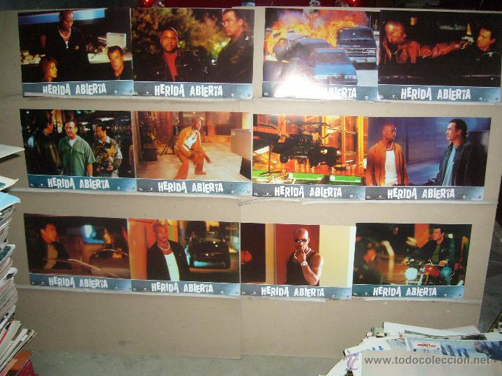 HERIDA ABIERTA STEVEN SEAGAL JUEGO COMPLETO YY(753) (Cine - Fotos, Fotocromos y Postales de Películas)