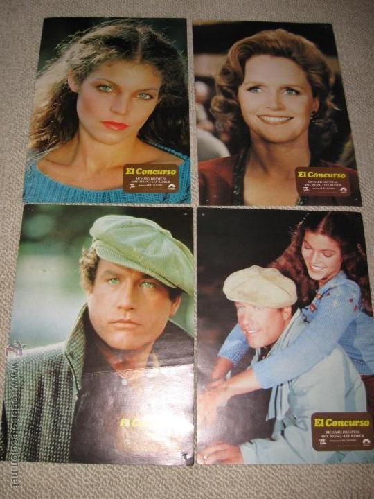 EL CONCURSO, RICHARD DREYFUSS, LEE REMICK, AMY IRVING 12 FOTOCROMOS, LOBBY CARDS (Cine - Fotos, Fotocromos y Postales de Películas)