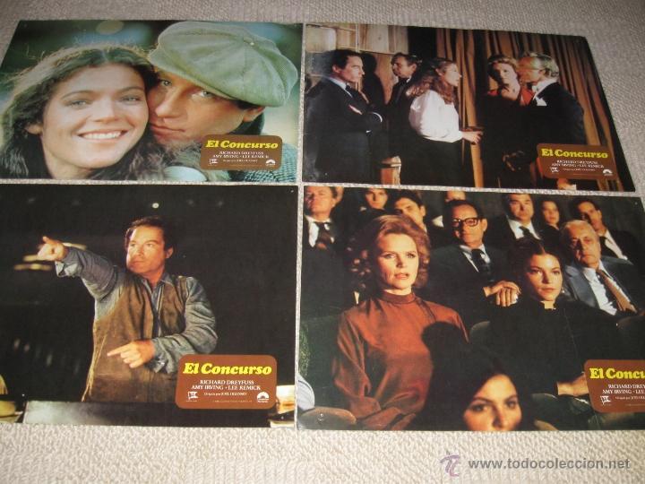 Cine: El Concurso, Richard Dreyfuss, Lee Remick, Amy Irving 12 fotocromos, lobby cards - Foto 3 - 44711637