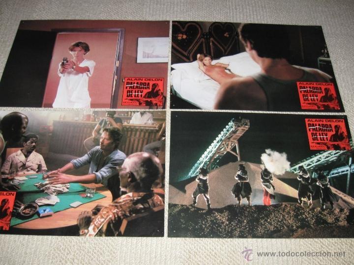 Cine: Palabra de ley, Alain Delon 8 fotocromos, lobby cards - Foto 2 - 44782455