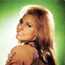 Cine: RAQUEL WELCH POSTAL ORIGINAL A COLOR DE LA EPOCA. Lote 55369910