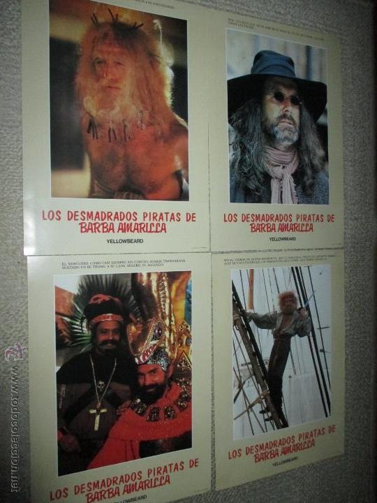 Cine: Los desmadrados piratas de la barba amarilla, de Mel Damski 14 fotocromos, lobby cards - Foto 2 - 44909982