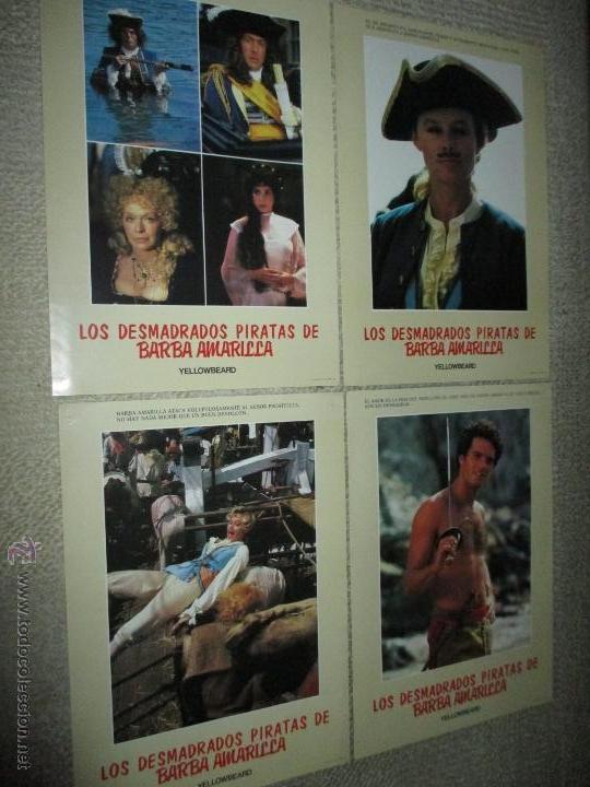 Cine: Los desmadrados piratas de la barba amarilla, de Mel Damski 14 fotocromos, lobby cards - Foto 3 - 44909982
