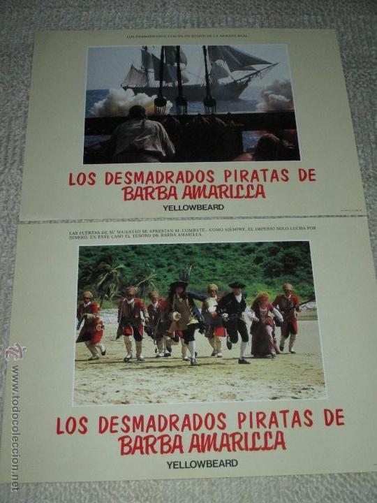 Cine: Los desmadrados piratas de la barba amarilla, de Mel Damski 14 fotocromos, lobby cards - Foto 4 - 44909982