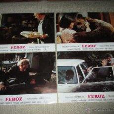 Cine: FEROZ, MANUEL GUTIÉRREZ ARAGÓN, FERNANDO FERNÁN GÓMEZ 12 FOTOCROMOS, LOBBY CARDS. Lote 44910062