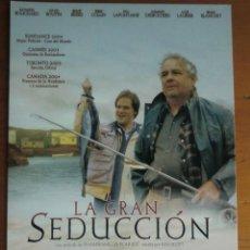Cine: POSTAL DE LA PELÍCULA LA GRAN SEDUCCIÓN DE JEAN FRANÇOIS POULIOT. ¡NUEVA!. Lote 44973124