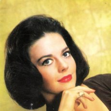 Cine: NATALIE WOOD POSTAL ORIGINAL A COLOR DE LA EPOCA. Lote 119673651