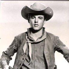 Cine: RICKY NELSON POSTAL ORIGINAL BLANCO Y NEGRO 1960. Lote 52464935